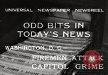 Image of Capitol building Washington DC USA, 1932, second 7 stock footage video 65675033276