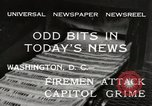 Image of Capitol building Washington DC USA, 1932, second 8 stock footage video 65675033276