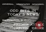Image of Capitol building Washington DC USA, 1932, second 9 stock footage video 65675033276