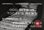 Image of Capitol building Washington DC USA, 1932, second 10 stock footage video 65675033276