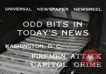 Image of Capitol building Washington DC USA, 1932, second 11 stock footage video 65675033276