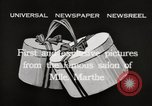Image of hats Paris France, 1932, second 13 stock footage video 65675033278