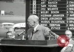 Image of Dwight D Eisenhower Iowa United States USA, 1953, second 49 stock footage video 65675033292