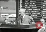 Image of Dwight D Eisenhower Iowa United States USA, 1953, second 51 stock footage video 65675033292