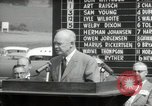 Image of Dwight D Eisenhower Iowa United States USA, 1953, second 53 stock footage video 65675033292