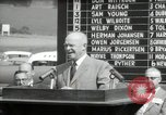 Image of Dwight D Eisenhower Iowa United States USA, 1953, second 54 stock footage video 65675033292