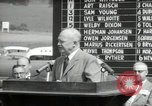 Image of Dwight D Eisenhower Iowa United States USA, 1953, second 56 stock footage video 65675033292
