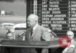 Image of Dwight D Eisenhower Iowa United States USA, 1953, second 57 stock footage video 65675033292