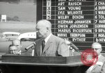 Image of Dwight D Eisenhower Iowa United States USA, 1953, second 58 stock footage video 65675033292