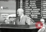 Image of Dwight D Eisenhower Iowa United States USA, 1953, second 59 stock footage video 65675033292