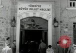Image of dignitaries Ankara Turkey, 1953, second 36 stock footage video 65675033298