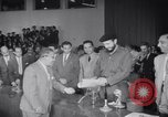 Image of Fidel Castro soon after taking power Cuba, 1959, second 44 stock footage video 65675033310