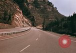 Image of Road scenes Glenwood Canyon Colorado United States USA, 1971, second 58 stock footage video 65675033331