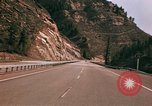 Image of Road scenes Glenwood Canyon Colorado United States USA, 1971, second 60 stock footage video 65675033331