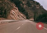 Image of Road scenes Glenwood Canyon Colorado United States USA, 1971, second 61 stock footage video 65675033331