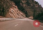 Image of Road scenes Glenwood Canyon Colorado United States USA, 1971, second 62 stock footage video 65675033331