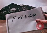 Image of Sheep and roadways Frisco Colorado United States USA, 1971, second 3 stock footage video 65675033332