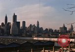 Image of ship New York City USA, 1965, second 31 stock footage video 65675033341