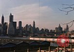 Image of ship New York City USA, 1965, second 44 stock footage video 65675033341