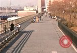 Image of Pedestrians on Brooklyn Queens Expressway New York City USA, 1965, second 21 stock footage video 65675033342