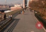Image of Pedestrians on Brooklyn Queens Expressway New York City USA, 1965, second 27 stock footage video 65675033342