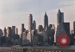 Image of Pedestrians on Brooklyn Queens Expressway New York City USA, 1965, second 38 stock footage video 65675033342