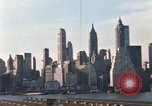 Image of Pedestrians on Brooklyn Queens Expressway New York City USA, 1965, second 43 stock footage video 65675033342