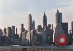 Image of Pedestrians on Brooklyn Queens Expressway New York City USA, 1965, second 45 stock footage video 65675033342