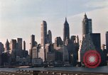 Image of Pedestrians on Brooklyn Queens Expressway New York City USA, 1965, second 51 stock footage video 65675033342