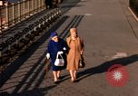 Image of Pedestrians on Brooklyn Queens Expressway New York City USA, 1965, second 60 stock footage video 65675033342