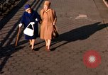 Image of Pedestrians on Brooklyn Queens Expressway New York City USA, 1965, second 62 stock footage video 65675033342
