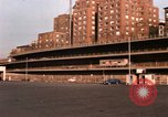 Image of City traffic in Brooklyn New York United States USA, 1965, second 32 stock footage video 65675033343