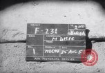 Image of 18th Fighter Bomber Wing Korea, 1951, second 2 stock footage video 65675033381