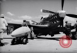 Image of 110 gallon auxiliary fuel tanks Korea, 1951, second 7 stock footage video 65675033387