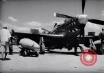 Image of 110 gallon auxiliary fuel tanks Korea, 1951, second 9 stock footage video 65675033387