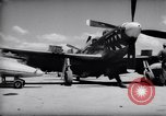 Image of 110 gallon auxiliary fuel tanks Korea, 1951, second 11 stock footage video 65675033387