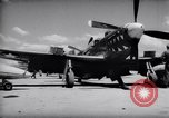 Image of 110 gallon auxiliary fuel tanks Korea, 1951, second 12 stock footage video 65675033387