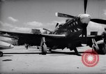 Image of 110 gallon auxiliary fuel tanks Korea, 1951, second 13 stock footage video 65675033387