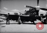 Image of 110 gallon auxiliary fuel tanks Korea, 1951, second 15 stock footage video 65675033387