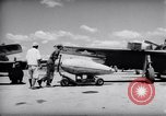 Image of 110 gallon auxiliary fuel tanks Korea, 1951, second 17 stock footage video 65675033387
