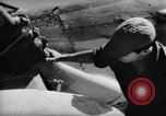 Image of 110 gallon auxiliary fuel tanks Korea, 1951, second 26 stock footage video 65675033387