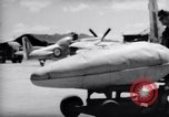 Image of 110 gallon auxiliary fuel tanks Korea, 1951, second 34 stock footage video 65675033387