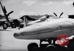 Image of 110 gallon auxiliary fuel tanks Korea, 1951, second 35 stock footage video 65675033387