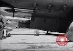 Image of 110 gallon auxiliary fuel tanks Korea, 1951, second 61 stock footage video 65675033387