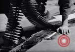 Image of Loading of F-51 guns Korea, 1951, second 13 stock footage video 65675033388
