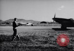 Image of Ground crew members of 18th Fighter Bomber Wing Korea, 1951, second 18 stock footage video 65675033391