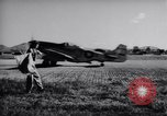 Image of Ground crew members of 18th Fighter Bomber Wing Korea, 1951, second 19 stock footage video 65675033391