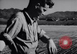 Image of Ground crew members of 18th Fighter Bomber Wing Korea, 1951, second 33 stock footage video 65675033391