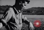 Image of Ground crew members of 18th Fighter Bomber Wing Korea, 1951, second 35 stock footage video 65675033391