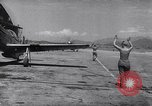 Image of F-51 aircraft of US 18th Fighter Bomber Wing Korea, 1951, second 48 stock footage video 65675033404